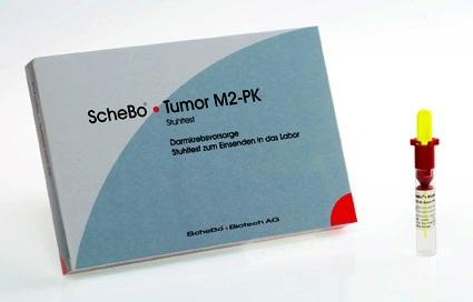 ScheBo Tumor M2-PK Stuhltest zur Darmkrebsfrüherkennung