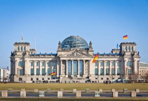 40426688 - facade view of the reichstag bundestag building in berlin germany