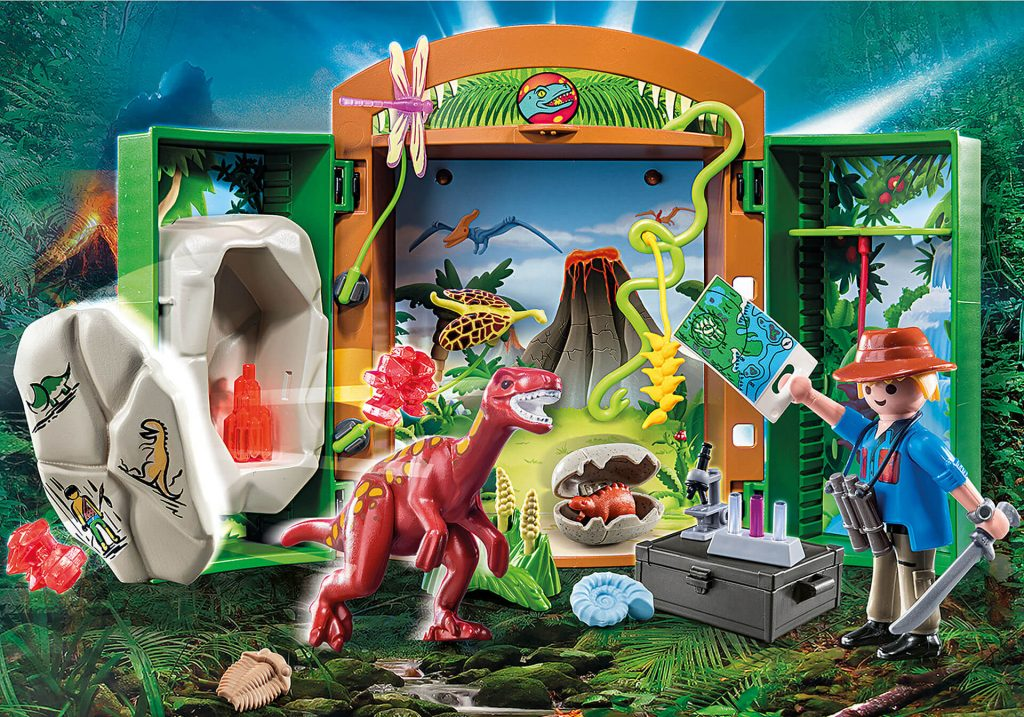 Playmobil Spielbox Dinoforscher